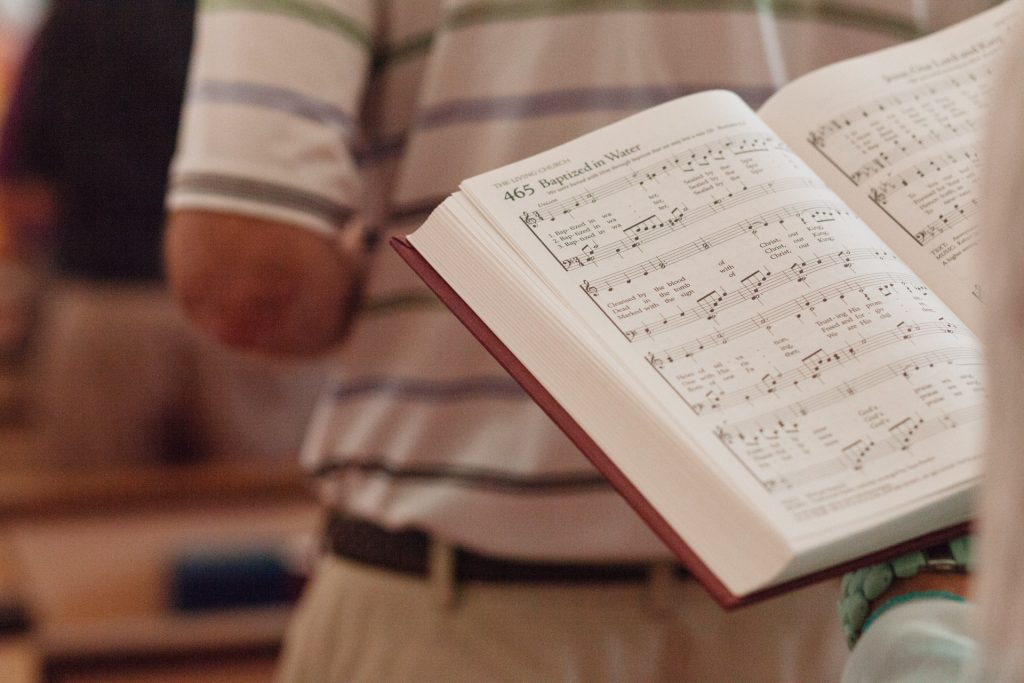 First Presbyterian Church Hymnals